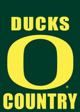 NCAA Oregon Ducks 2-Sided Country Garden Flag Flag