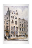 Shop Fronts on New Bond Street, Westminster, London, C1860 Giclee Print by Robert Dudley