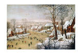 The Bird Trap, C1584-1638 Giclee Print by Pieter Brueghel the Younger