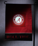 NCAA Alabama Crimson Tide Light Show Garden Flag Flag