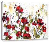 Floral Gallery-Wrapped Canvas Stretched Canvas Print