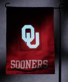 NCAA Oklahoma Sooners Light Show Garden Flag Flag