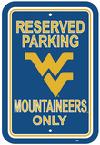 NCAA West Virginia Mountaineers Parking Sign Wall Sign