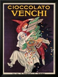 Cioccolato Venchi Framed Giclee Print by Leonetto Cappiello