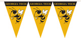 NCAA Georgia Tech Yellow Jackets Party Pennant Flags Flag