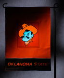 NCAA Oklahoma State Cowboys Light Show Garden Flag Flag