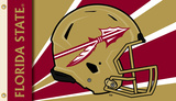 NCAA Florida State Seminoles Flag with Grommets Helmet Design Flag