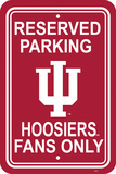 NCAA Indiana Hoosiers Parking Sign Wall Sign