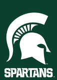 NCAA Michigan State Spartans 2-Sided Garden Flag Flag