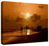sunart1b Gallery-Wrapped Canvas Stretched Canvas Print