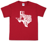 Youth: Everything Is Bigger In Texas Koszulki