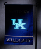 NCAA Kentucky Wildcats Light Show Garden Flag Flag