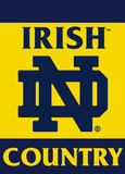 NCAA Notre Dame Fighting Irish 2-Sided Country Garden Flag Flag