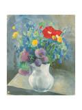 Flowers, 1925 Giclee Print by Petr Savvic Utkin