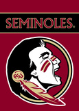 NCAA Florida State Seminoles 2-Sided Garden Flag Flag