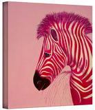 pinkzebra Gallery-Wrapped Canvas Stretched Canvas Print