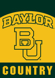 NCAA Baylor Bears 2-Sided Country Garden Flag Flag