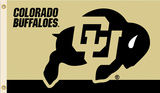 NCAA Colorado Buffalos Flag with Grommets Flag