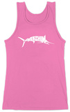 Womens: Marlin - Gone Fishing Tank Top Tank Top