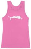 Womens: Marlin - Gone Fishing Tank Top Womens Tank Tops