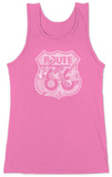 Womens: Stops Along Route 66 Tank Top Tank Top