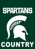 NCAA Michigan State Spartans 2-Sided Country Garden Flag Flag