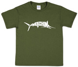 Youth: Marlin - Gone Fishing T-shirts