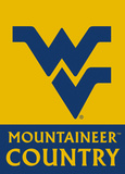 NCAA West Virginia Mountaineers 2-Sided Country Garden Flag Flag