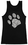 Womens: Dog Paw Tank Top Tank Top
