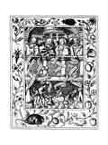 The Four Great Alchemists, 1652 Giclée-Druck von Robert Vaughan
