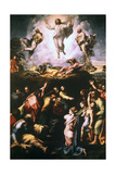 The Transfiguration, C1519-1520 Reproduction procédé giclée par  Raphael