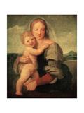 The Mackintosh Madonna, C1510-1512 Reproduction procédé giclée par  Raphael