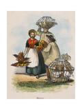 Market, C1845 Giclee Print by Robert Kent Thomas