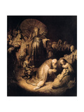 The Adoration of the Magi, 1632 Giclee Print by  Rembrandt van Rijn