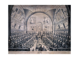 Guildhall, London, 1825 Giclee Print by Richard Dighton