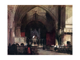 The Church of St Ambrogio, Milan, Early 19th Century Giclee Print by Richard Parkes Bonington