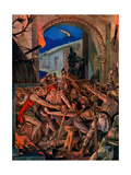The Last Feast of Robert De Comines' Men at Durham, 1069 Giclee Print by Richard Caton Woodville II