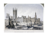 Palace of Westminster, London, C1860 Giclee Print by Robert S Groom