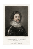 Frederick V (1596-163) the 'Winter King, 1812 Giclee Print by Robert Dunkarton