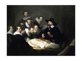 The Anatomy Lesson of Dr Nicolaes Tulp, 1632 Giclée-tryk af  Rembrandt van Rijn