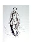 Figure in 16th Century Costume, C1823-1870 Giclee Print by Prosper Merimee