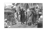 The Slave Market in Morocco, 1888 Giclee Print by Richard Caton Woodville II