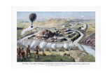 The Battle of Paardeberg, South Africa, Second Anglo-Boer War, February 1900 Giclee Print by Richard Knotel