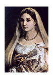 Woman with a Veil (La Donna Velat), 1512-13 Giclee Print by  Raphael