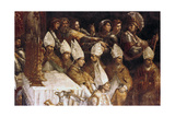 The Crowning of Charlemagne (Detail), C1514 Giclee Print by  Raphael