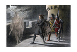 A Scene from Macbeth, C17th Century Giclee Print by Robert Dudley