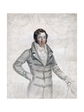 Thomas Cochrane, 10th Earl of Dundonald, Early 19th Century Giclee Print by Robert Cooper