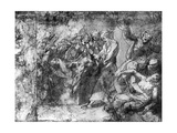Study for an Entombment, Attributed to Raphael, 1913 Reproduction procédé giclée par  Raphael