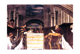 The Mass at Bolsena Detail, 1512 Giclee Print by  Raphael