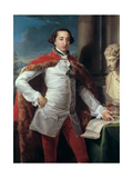 Portrait of Richard Milles Giclee Print by Pompeo Batoni